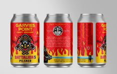 Garvies Point Craft Brewery – Battalion 5 Pilsner – Brand ID & Packaging Island Crafts, Beverage Packaging, New Growth, Communication Design, Arizona Tea, Cold Drinks, Drinking Tea, Marketing And Advertising, Craft Beer
