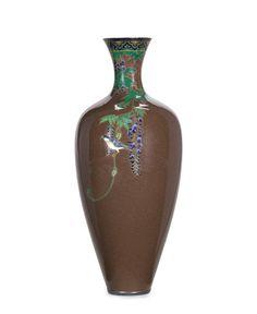 Japanese Beauty, Japanese Art, Korean Art, Enamel Ware, Auction, Fine Art, Vases, Ceramics, Design