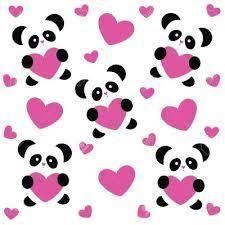 Resultado de imagen para osos panda animados tiernos