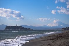 Enoshima and mt. Fuji