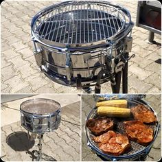 Drum grill.