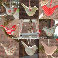 Handmade & More - No instructions, but I just love the birds!