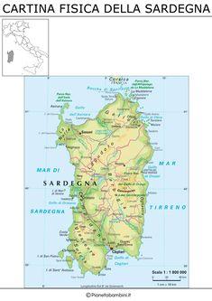 Cartina Politica Sardegna.130 Idee Su Geografia Geografia Attivita Geografia L Insegnamento Della Geografia