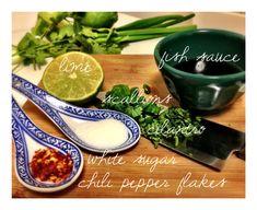 "Thai ""Crack Sauce"" – The Coastal Countertop Vietnamese Recipes, Thai Recipes, Sauce Recipes, Asian Recipes, Healthy Recipes, Asian Foods, Chinese Recipes, Vietnamese Food, Healthy Food"