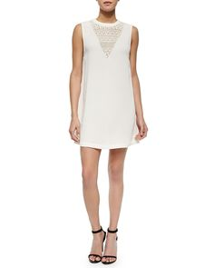 Shop Michelle's picks — Rebecca Minkoff Venus Sleeveless Knit & Lace Dress