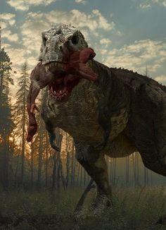Apex: Tyrannosaurus - Scavenger by Herschel-Hoffmeyer on DeviantArt