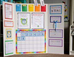 Delightful Learning: Preschool Morning Board..