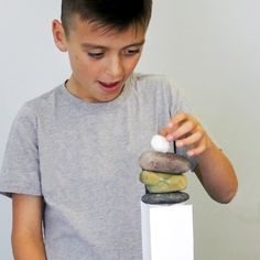 Build a freestanding structure out of rocks, paper, and scissors! Destination Imagination, Discovery Museum, Rock Paper Scissors, Problem Solving Skills, Catapult, Activities For Kids, Creativity, Brain, Rocks