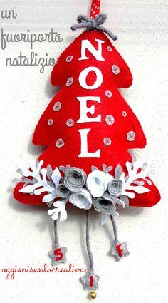 Oggi mi sento creativa: Un fuoriporta natalizio...-25 giorni a Natale!