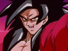 Dragon Ball Gt, Akira, Super Saiyan 4 Goku, Manga, Animation, Fan Art, Illustration, Cool, Nerd
