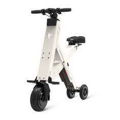 310437/Intelligent folding electric scooter/36V three rounds of adult electric bikes/Spring damping system/Range of 20 km
