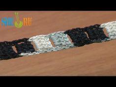 ▶ punto cuerdas Lección 9 Cable de ganchillo con bordes lisos - YouTube