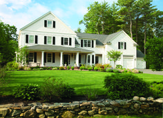 Americana The Beautiful: Historic Luxury Properties - Coldwell Banker Blue Matter Blue Matter, Unique Architecture, Classic Elegance, New England, Farmhouse Style, Landscape Design, Sweet Home, Real Estate, Exterior