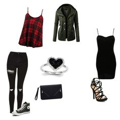 """Untitled #56"" by cariwhitman on Polyvore featuring Kevin Jewelers, Topshop, Converse, So in Fashion, LE3NO and Pilot"