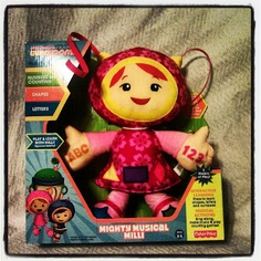 Locomotion of Expressions: Nickelodeon #HolidayGiftGuide: Musical Learning Plush (Milli)