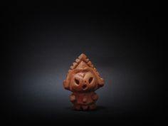 木彫り土偶 6号