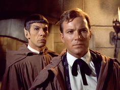 Kirk and Spock, brilliantly disguised... 0.o