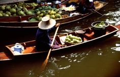 An authentic cultural experience awaits you in Thailand, just outside Bangkok. #AsiaTravel http://www.nationalgeographic.com/travel/digital-nomad/thailand/exploring-village-life-beyond-bangkok-floating-markets/