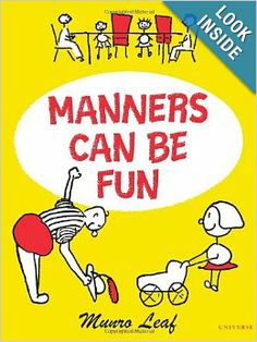 Manners Can Be Fun: Munro Leaf