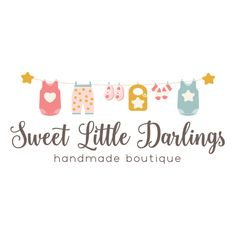 Premade Logo - Baby Clothing Premade Logo Design - Customized with Your Business Name!