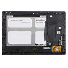 """For Lenovo IdeaTab S6000 10.1"""" New Full LCD Display Screen Monitor + Digitizer Touch Screen Glass Panel Assembly with Frame  — 3088.05 руб. —"""