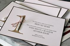 Awesome invite. Can save cost by not go with the letterpress print