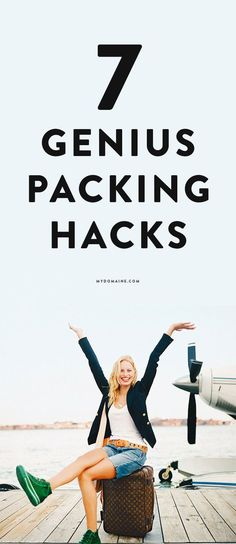 Packing light for a trip will save you time, money, and stress!