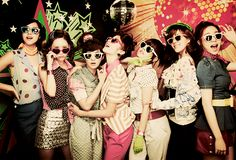 rockin' the retro look {T-ara's Roly Poly} #kpop