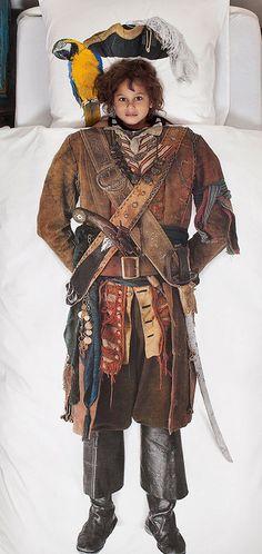 Dit SNURK 'Piraat' dekbedhoes is er één voor échte stoere boys. #Boys #Beddengoed #Snurk