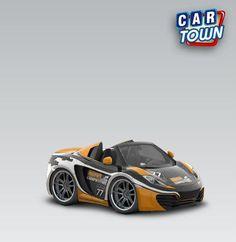 McLaren MP4-12C Spider 2013 - Gear Competition