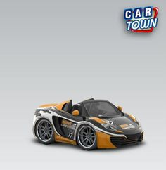 McLaren MP4-12C Spider 2013 - Gear Competition