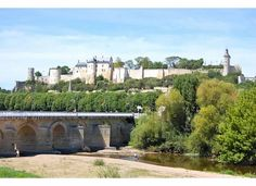 Chateau de Chinon in France!