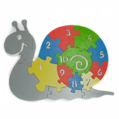 Puzzles for stimulating child's imagination and learning the digits. Made by Neo-Spiro.