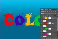 Learn How to Create Splatter Text Effect in Photoshop