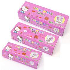 Hello Kitty Zipper Bag Multipurpose Transparent Zip Gift Food Picnic Kids Pocket #LockLock #BirthdayChild