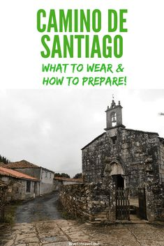 Doing the Camino: What to wear, what to bring, and how to train! Travel Log, Europe Travel Tips, Spain Travel, Travel Guides, Travel Destinations, Travel Hacks, Travel Packing, Travel Essentials, Spain Pilgrimage