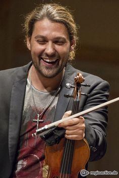 David Garrett, This man has the most amazing smile!