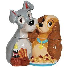 Disney Lady And The Tramp Spaghetti Cookie Jar - Collectible Kitchen Décor Disney http://www.amazon.com/dp/B00PCWDECC/ref=cm_sw_r_pi_dp_tIrHub1KN46YR