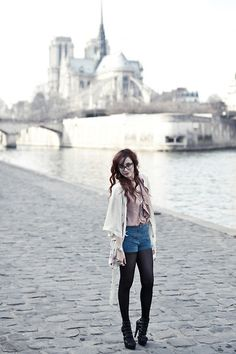 Notre-Dame (by Louise Ebel) http://lookbook.nu/look/3161983-Notre-Dame