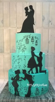 ...and they lived... by BULGARIcAkes - http://cakesdecor.com/cakes/283749-and-they-lived