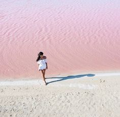 #pink beach in #yucatan 😍