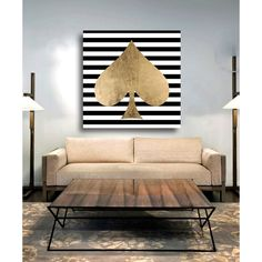 The Spade Canvas Print, Oliver Gal