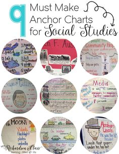 Anchor charts are a classroom favorite for so many of us! Sometimes we, especially as females, get so discouraged when we see other people's anchor charts and how perfect they look. Friends, let me let you in on a secret–mine were NEVER perfect! As a matter of fact, some of the social studies anchor chartsMore