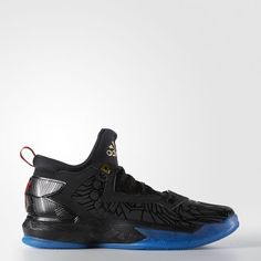 official photos f4687 5beaf adidas D Lillard 2.0 Shoes - Black  adidas US Basketball Sneakers, Black  Adidas,