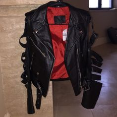 Ragged Priest Leather Jacket Brand new•Size 10 (fits size small)•Still has tags•Genuine Leather jacket•Cheaper on my eBay The Ragged Priest Jackets & Coats