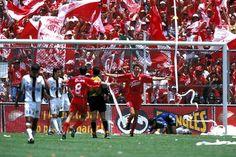 Verano 1999: Toluca (5) 5-5 (4) Atlas Los Diablos, dirigidos por Enrique Meza, se impusieron en serie de penaltis a los Rojinegros de Ricardo Antonio La Volpe en una de las finales más espectaculares.