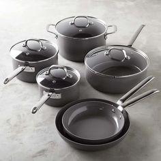 Williams-Sonoma Professional Ceramic Nonstick 10-Piece Cookware Set, $499.95, Williams-Sonoma