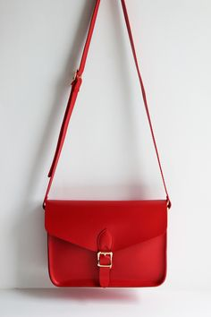 Palette Red Vegan Cross-body bag fighting AIDS and HIV – Angela & Roi Handbags | Donate by Color