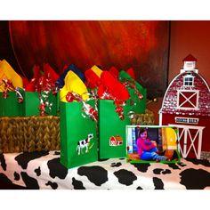 Farm Theme Party Favors