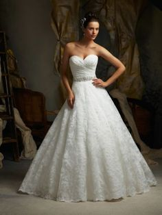 2014 White Ivory Lace Wedding Dress Custom Size 2 4 6 8 10 12 14 16 18 20 | eBay